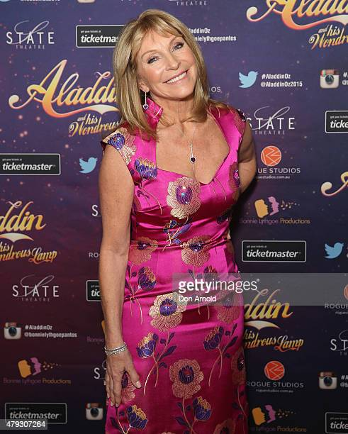 Bonnie Lythgoe arrives at Aladdin And His Wondrous Lamp opening night at the State Theatre on July 3 2015 in Sydney Australia