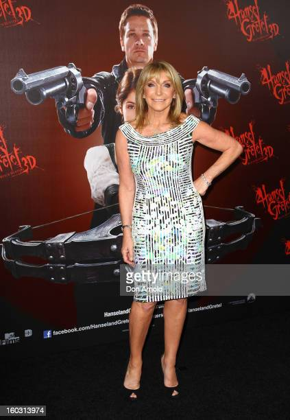 Bonnie Lythgoe arrives at the Australian Premiere of 'Hansel Gretel Witch Hunters' at Event Cinemas on January 29 2013 in Sydney Australia
