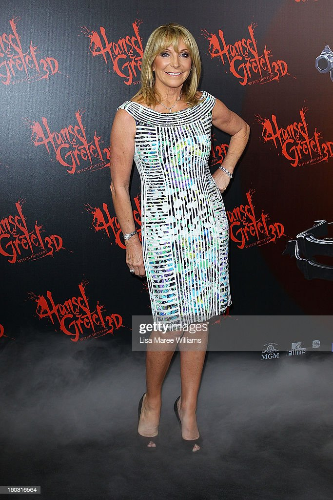 Bonnie Lythgoe arrives at the Australian Premiere of 'Hansel & Gretel Witch Hunters' at Event Cinemas on January 29, 2013 in Sydney, Australia.