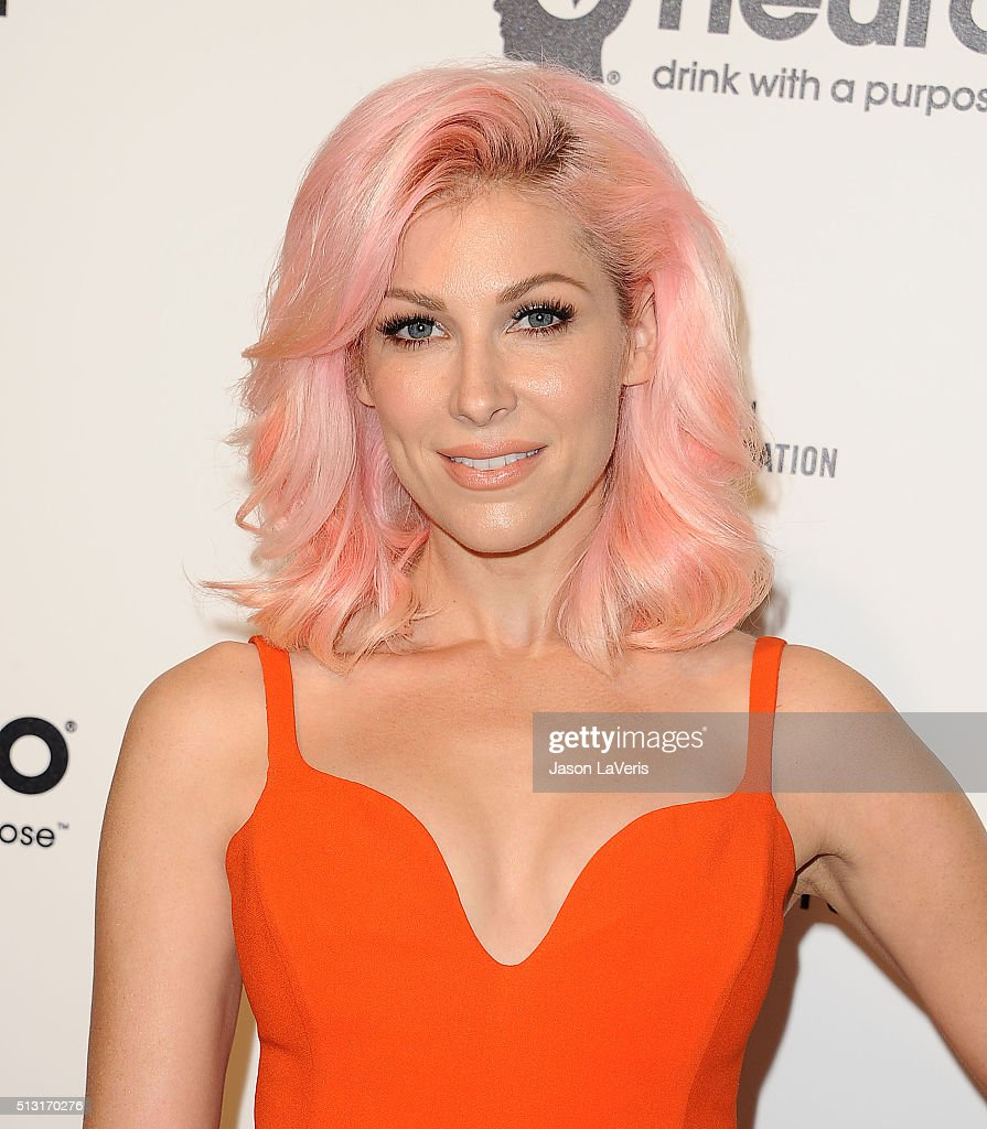 Bonnie McKee attends the 24th annual Elton John AIDS Foundation's Oscar viewing party on February 28 2016 in West Hollywood California