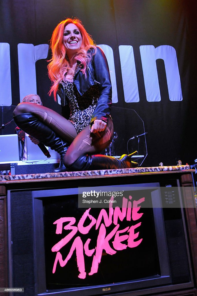 Bonnie McKee performs at Mercury Ballroom on April 24 2014 in Louisville Kentucky