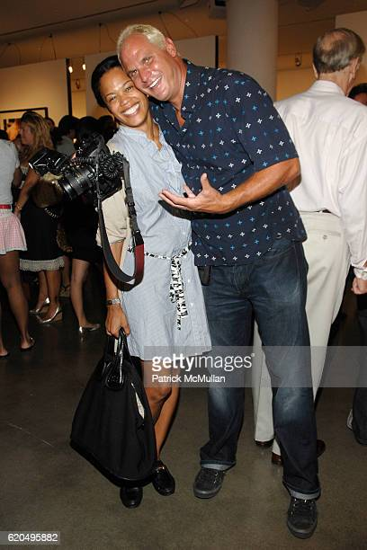 Bonnie Morrison and Steve Eichner attend Opening of Photographer BEN WATTS' BIG UP at MILK GALLERY at Milk Gallery on September 2 2008 in New York...