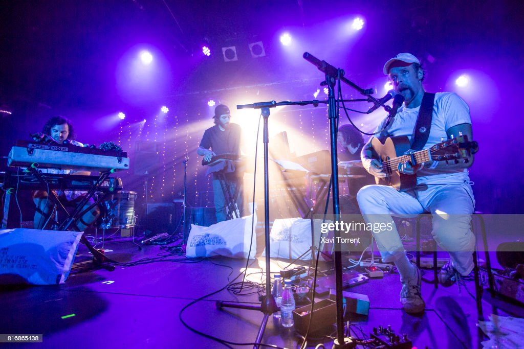 Bonnie 'Prince' Billy & Bitchin Bajas perform in concert at Razzmatazz 2 on July 17, 2017 in Barcelona, Spain.