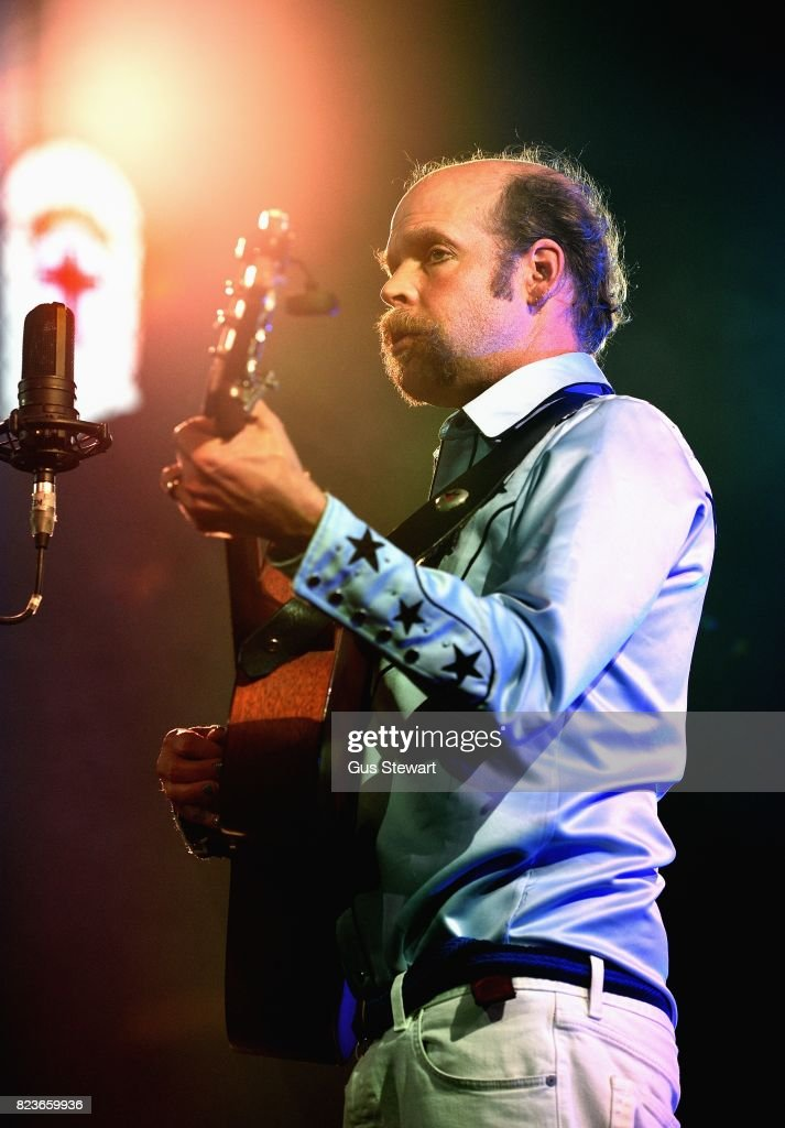 Bonnie 'Prince' Billy performs on stage at the Union Chapel on July 27, 2017 in London, England