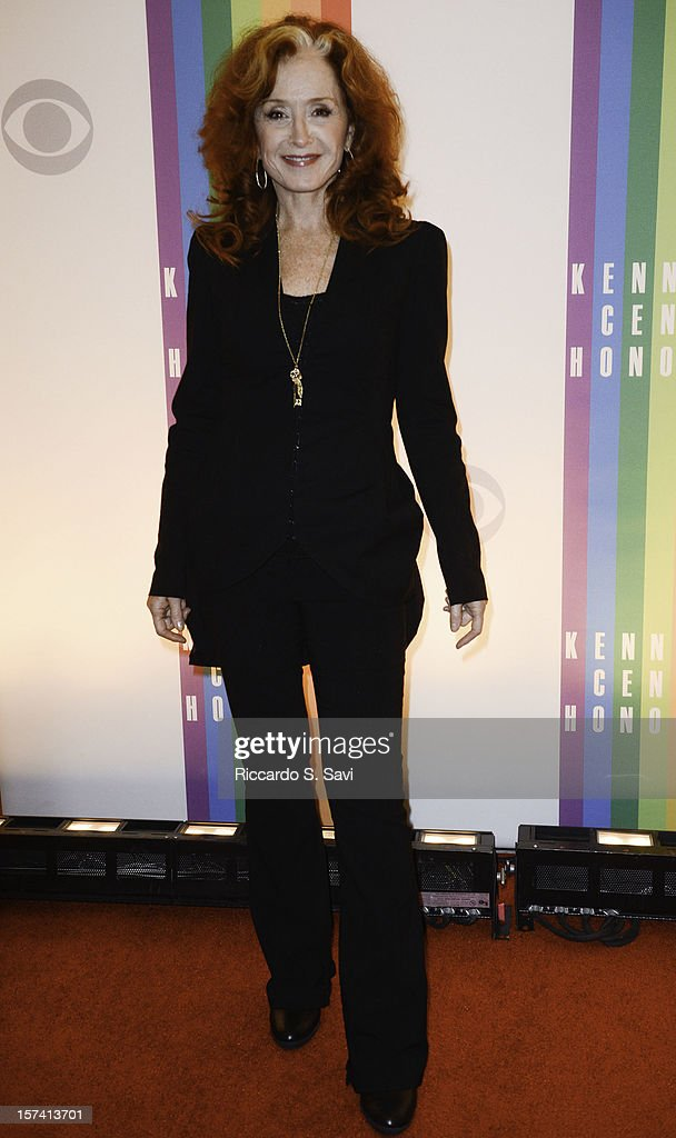 Bonnie Raitt attends the 35th Kennedy Center Honors at the Kennedy Center Hall of States on December 2, 2012 in Washington, DC.