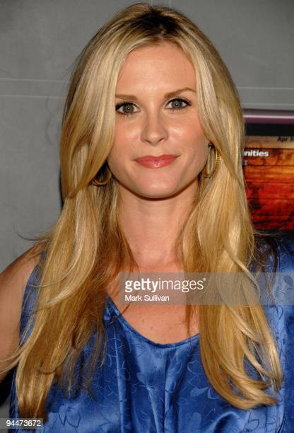 Bonnie Somerville arrives at the TMobile Sidekick LX Launch held at Paramount Studios on May 14 2009 in Hollywood California