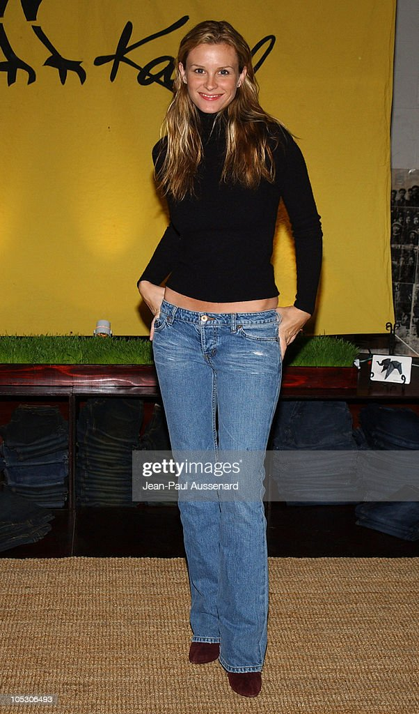 Bonnie Somerville at Kasil Jeans during The Silver Spoon Golden Globe Hollywood Buffet Day 1 at Ivar Soho Project in Hollywood California United...