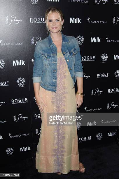 Bonnie Somerville attends THE ART OF ELYSIUM SECOND ANNUAL GENESIS EVENT SPONSORED BY ROGUE PICTURES PAIGE DENIM COFFEE BEAN TEA LEAF AND MILK...
