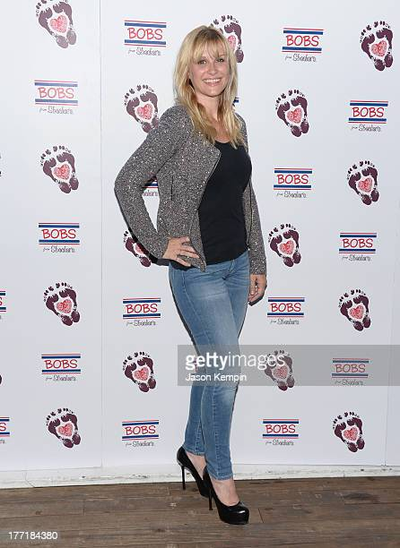 Bonnie Somerville attends the Bobs From Skechers Summer Soiree at SkyBar at the Mondrian Los Angeles on August 21 2013 in West Hollywood California