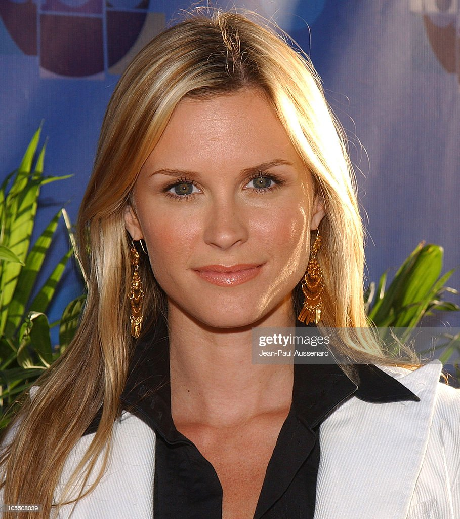 Bonnie Somerville during 2004 ABC All Star Summer Party at C2 Cafe in Century City California United States