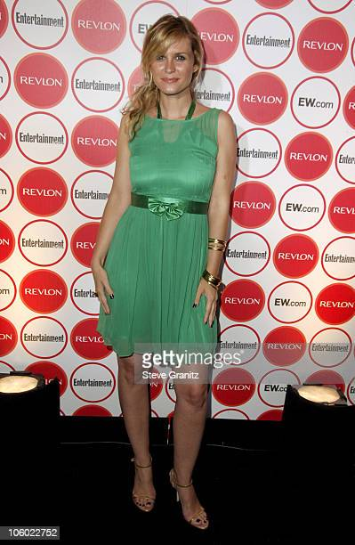 Bonnie Somerville during Entertainment Weekly Magazine 4th Annual PreEmmy Party Arrivals at Republic in Los Angeles California United States