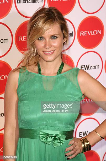 Bonnie Somerville during Entertainment Weekly's 4th Annual PreEmmy Party at Republic in West Hollywood California United States