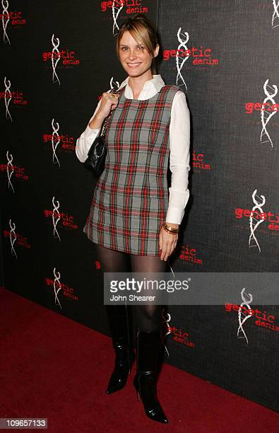 Bonnie Somerville during Genetic Denim's OneYear Anniversary and the Launch of Their ReVamped Collection Red Carpet at Area in Los Angeles California...
