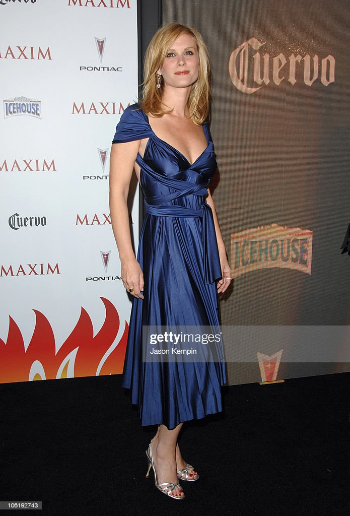 Bonnie Somerville during Maxim's 8th Annual Hot 100 Party Arrivals at The Gansevoort Hotel in New York City New York United States