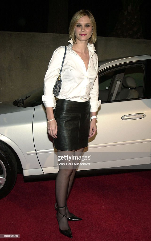 Bonnie Somerville during Vanity Fair Banana Republic Host 'A Night In White' at Private Estate in Los Angeles California United States