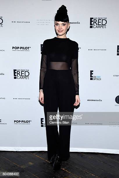Bonnie Strange attends E Red Carpet Influencer Suite promoting 'Live from the Red Carpet' on german E Entertainment at Soho House on January 10 2016...