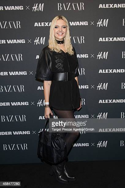 Bonnie Strange attends the Alexander Wang X HM collection preshopping event at Platoon Kunsthalle on November 5 2014 in Berlin Germany