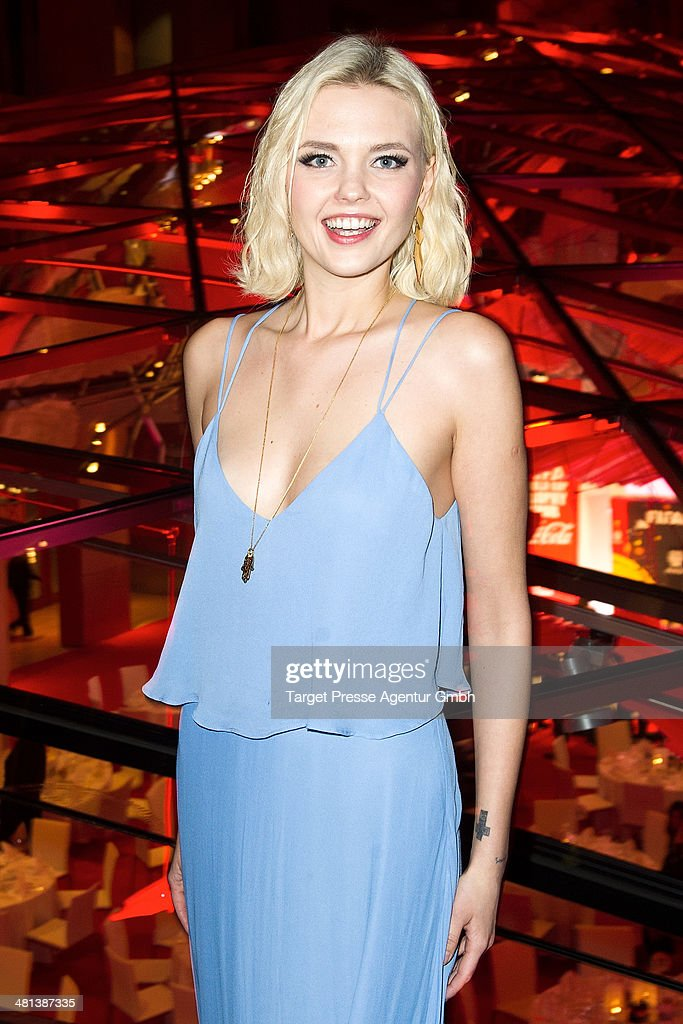Bonnie Strange attends the Gala Night of the FIFA World Cup trophy Tour on March 29, 2014 in Berlin, Germany.