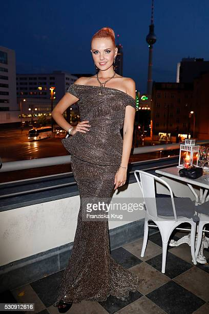 Bonnie Strange attends the GRAZIA Best Inspiration Award on May 11 2016 in Berlin Germany