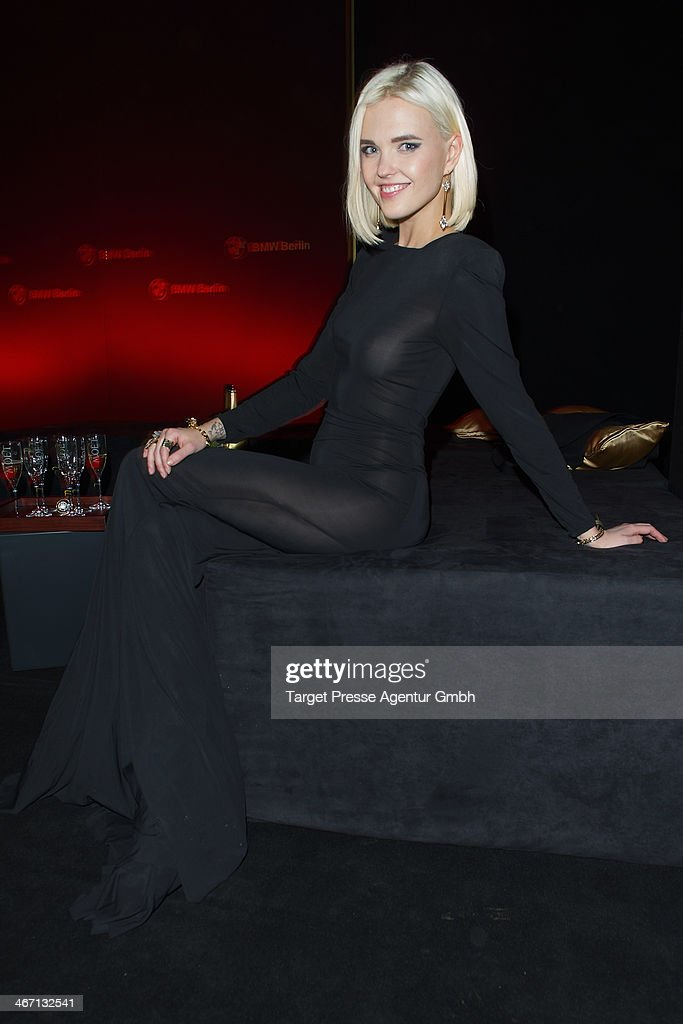 Bonnie Strange attends the Moet & Chandon Grand Scores at Kaufhaus Jandorf on February 5, 2014 in Berlin, Germany.