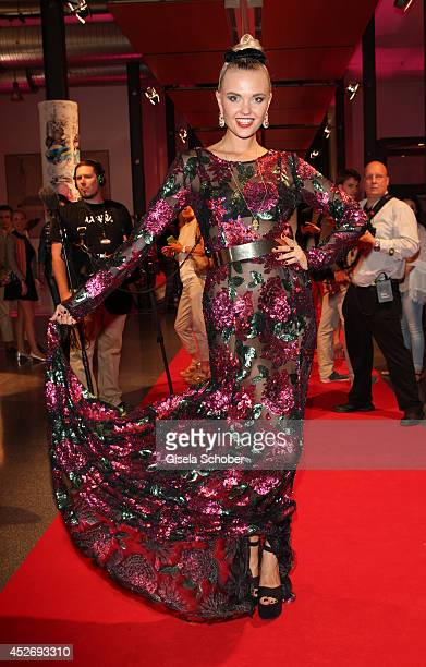 Bonnie Strange attends the New Faces Award Fashion 2014 on July 25 2014 in Duesseldorf Germany