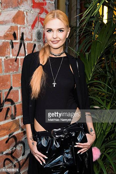 Bonnie Strange during the 'Into the Wild' ASOS Magazin Launch Party on May 19 2016 in Berlin Germany