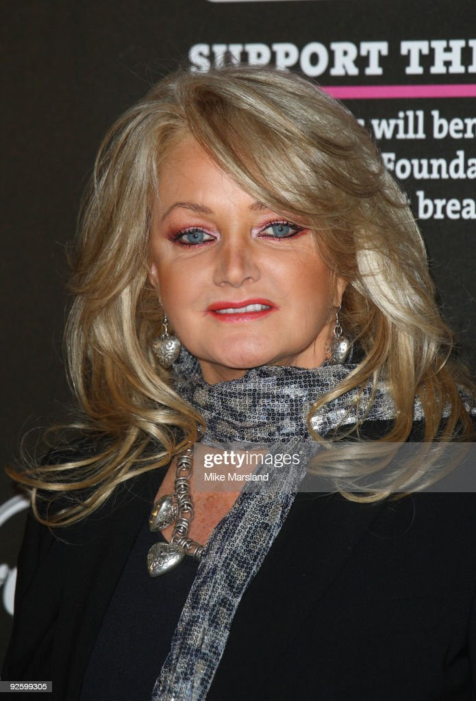 Bonnie Tyler attends the PINKTOBER Women Of Rock Charity Concert at Royal Albert Hall on November 1 2009 in London England