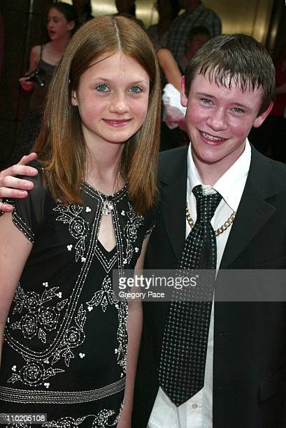 Bonnie Wright and Devon Murray during 'Harry Potter and the Prisoner of Azkaban' New York Premiere at Radio City Music Hall in New York City New York...