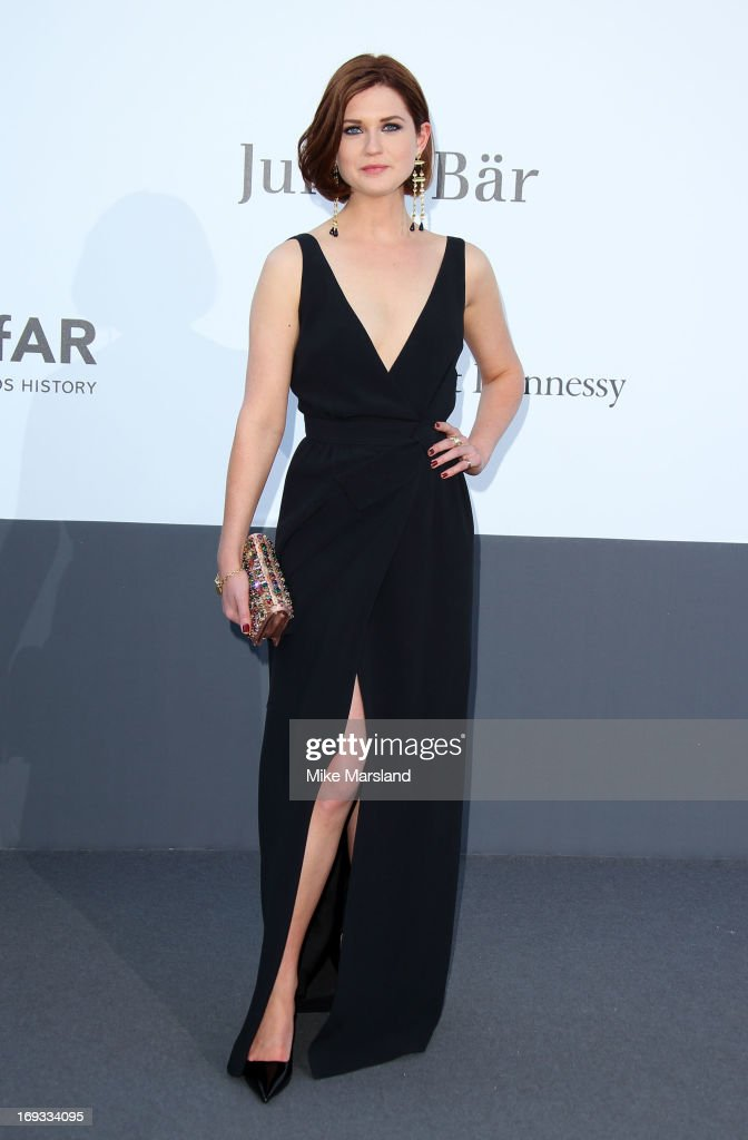 Bonnie Wright arrives at amfAR's 20th Annual Cinema Against AIDS at Hotel du Cap-Eden-Roc on May 23, 2013 in Cap d'Antibes, France.