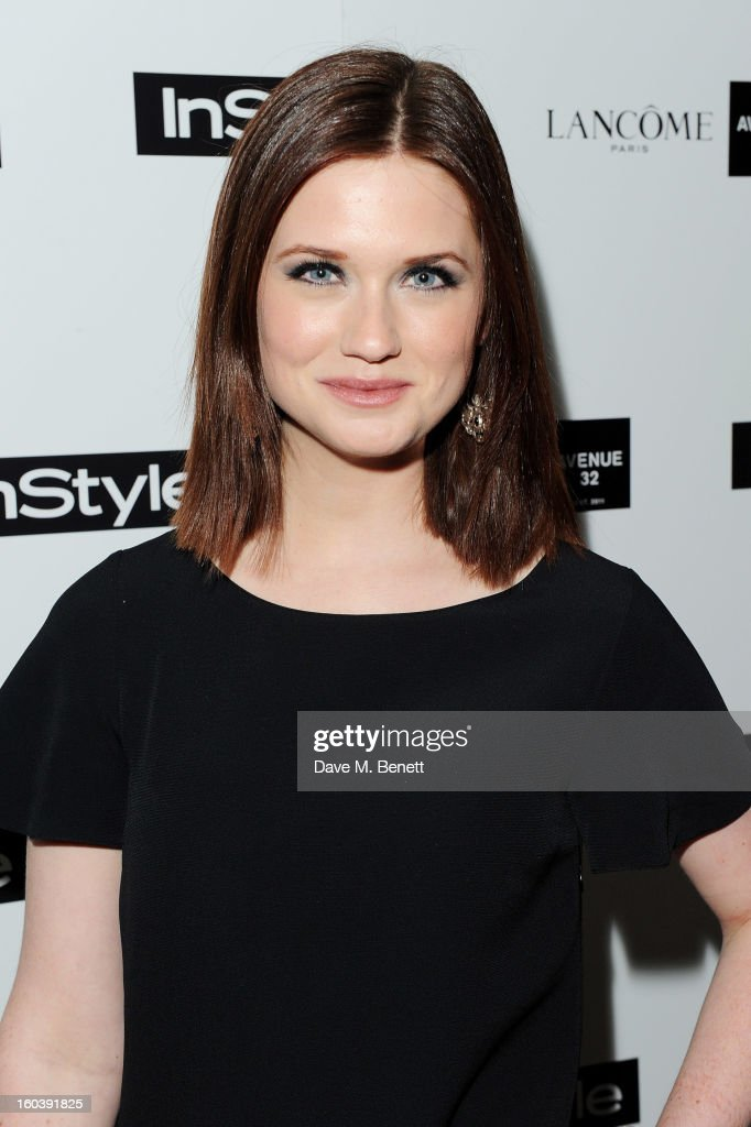 Bonnie Wright arrives at the InStyle Best Of British Talent party in association with Lancome and Avenue 32 at Shoreditch House on January 30, 2013 in London, England.