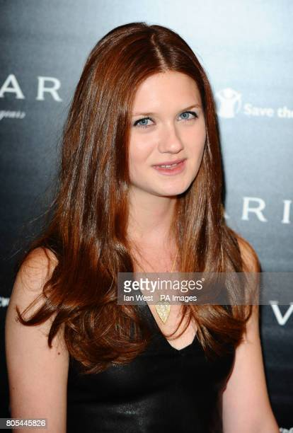 Bonnie Wright arriving at the Vogue Bvlgari 125th Anniversary Party drinks reception in aid of Save The Children at the Saatchi Gallery Kings Road...