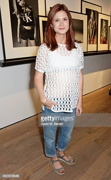Bonnie Wright attends the Calvin Klein Jeans x Mytheresacom party on July 17 2014 in London England