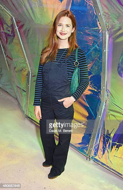 Bonnie Wright attends the COS x The Serpentine party at The Serpentine Gallery on July 14 2015 in London England