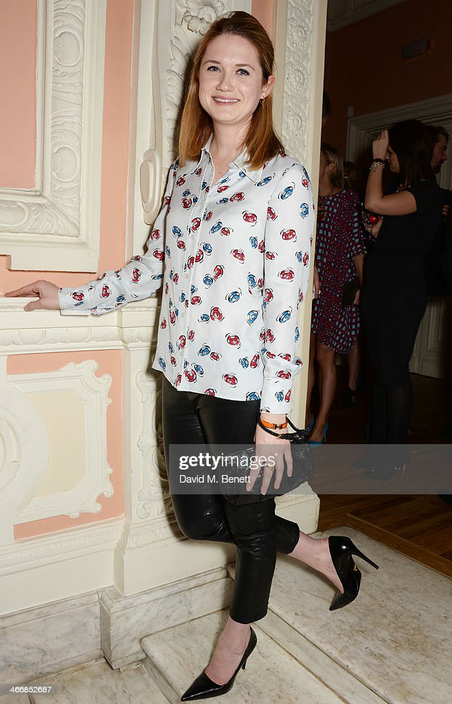 <a gi-track='captionPersonalityLinkClicked' href=/galleries/search?phrase=Bonnie+Wright+-+Actress&family=editorial&specificpeople=2165996 ng-click='$event.stopPropagation()'>Bonnie Wright</a> attends the InStyle Best of British Talent party in celebration of BAFTA, in association with Lancome and Sky Living, at Dartmouth House on February 4, 2014 in London, England.