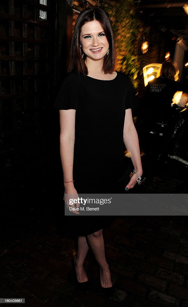 Bonnie Wright attends the InStyle Best Of British Talent party in association with Lancome and Avenue 32 at Shoreditch House on January 30, 2013 in London, England.