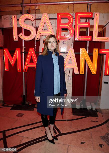 Bonnie Wright attends the Isabel Marant London dinner and party on December 5 2013 in London United Kingdom