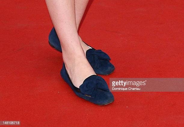 Bonnie Wright attends the 'On The Road' Premiere during the 65th Annual Cannes Film Festival at Palais des Festivals on May 23 2012 in Cannes France