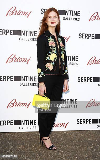 Bonnie Wright attends the The Serpentine Gallery summer party at The Serpentine Gallery on July 1 2014 in London England