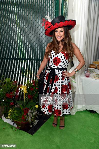 BonnieJill Laflin attends the 143rd Kentucky Derby at Churchill Downs on May 6 2017 in Louisville Kentucky