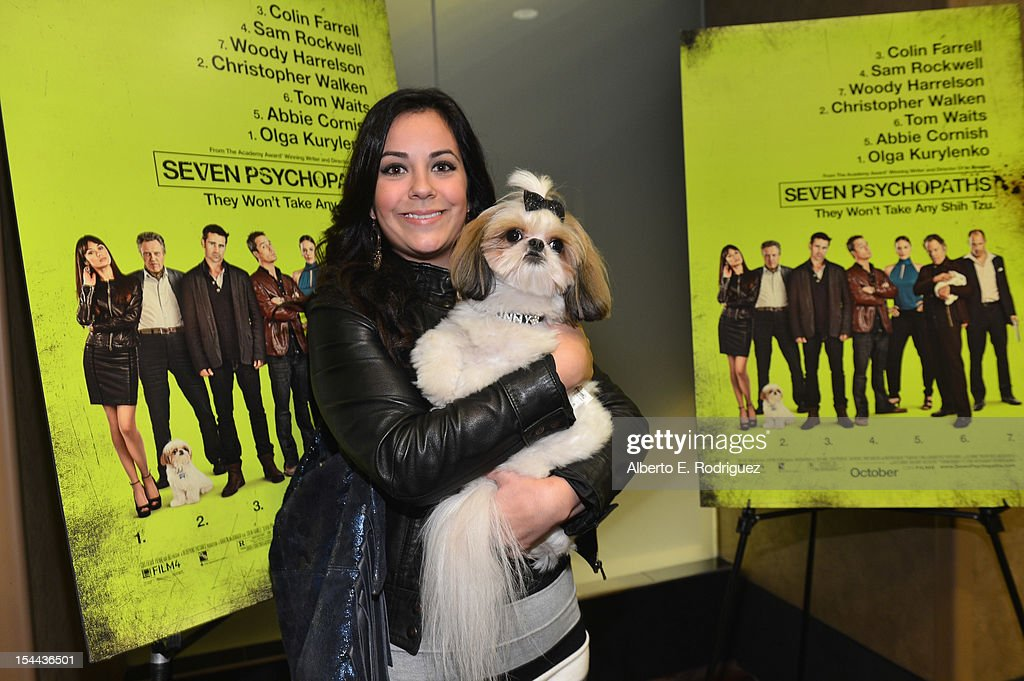 Bonny the ShihTzu and fans attend a screening of CBS Films' 'Seven Psychopaths' celebrating the Certified Fresh Rating from RottenTomatoes.com at AMC Century City 15 theater on October 19, 2012 in Century City, California.