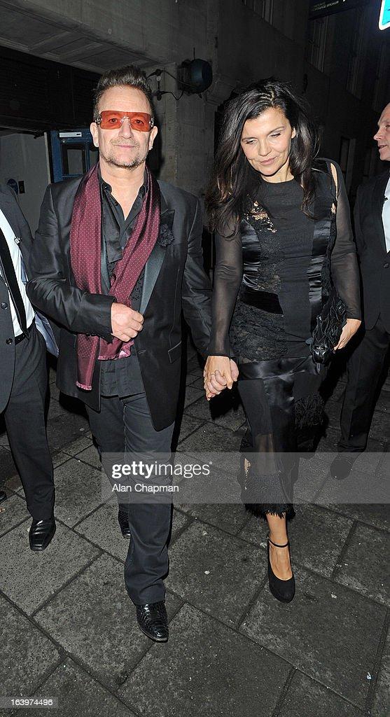 Celebrity Sightings In London - March 18, 2013