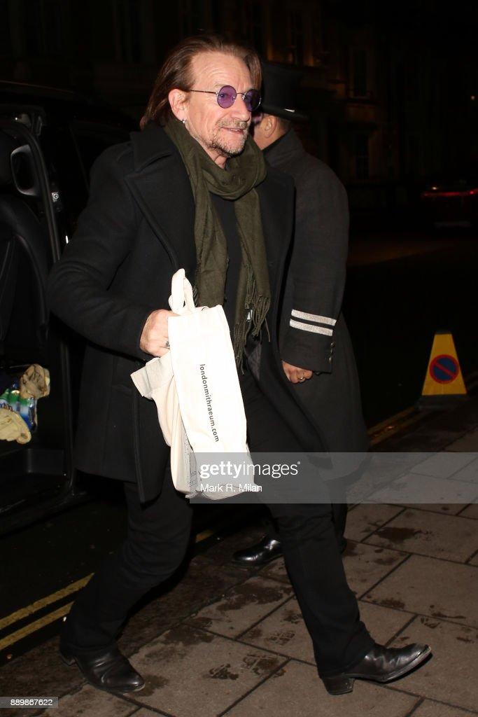 London Celebrity Sightings -  December 10, 2017