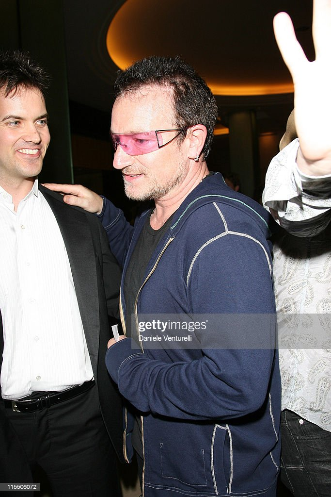 Bono during 2006 Cannes Film Festival - Dolce & Gabbana Party at Hotel Martinez in Cannes, France.