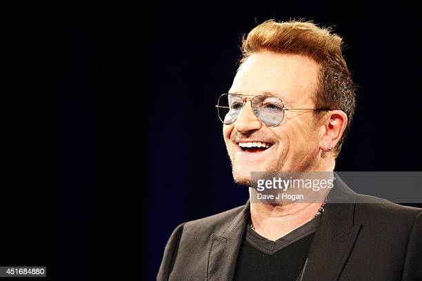 Bono during the Nordoff Robbins 02 Silver Clef awards at London Hilton on July 4 2014 in London England