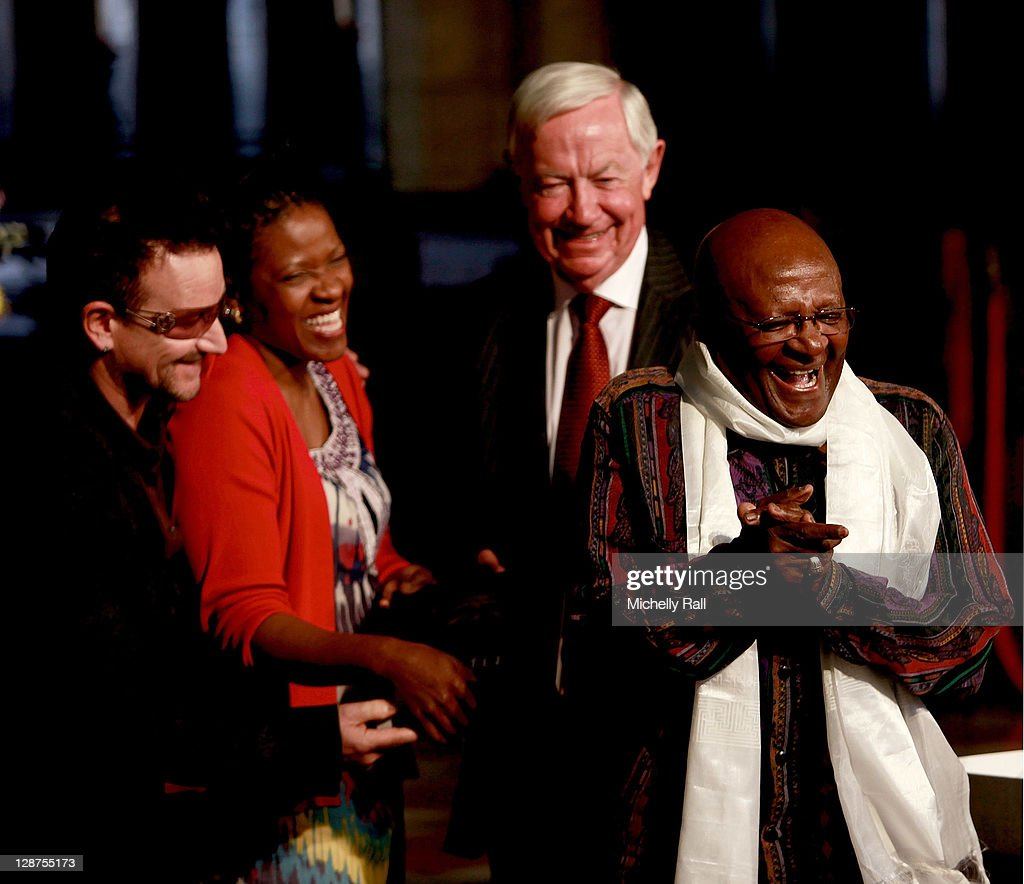Archbishop Desmond Tutu Attends Launch Of His Biography