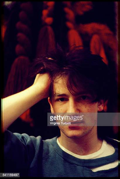 Bono of Irish rock band U2 Belgium 18 October 1980