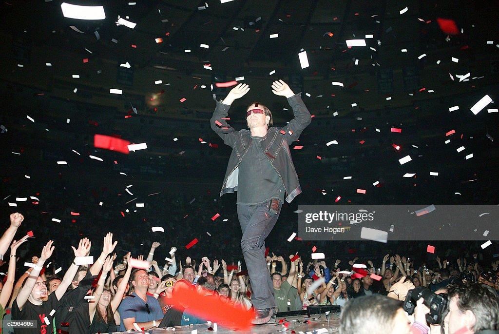 U2 Play Madison Square Gardens - Stage