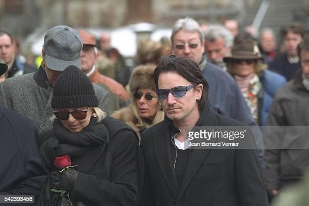 Bono singer of the rock group U2