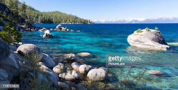 Bonsai Rock, Lake Tahoe, panorama