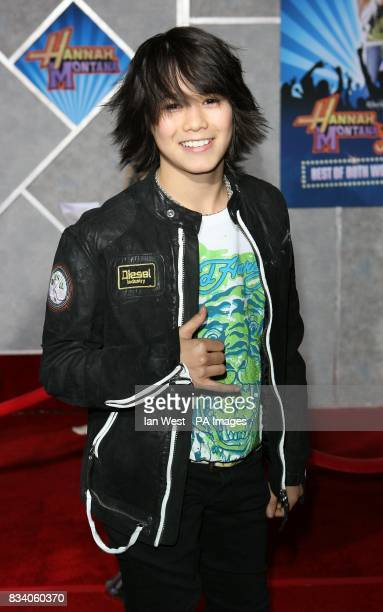 Boo Boo Stewart arrives at the premiere for new film Hannah Montana and Miley CyrusBest of Both Worlds Concert at the El Capitan Theatre Los Angeles